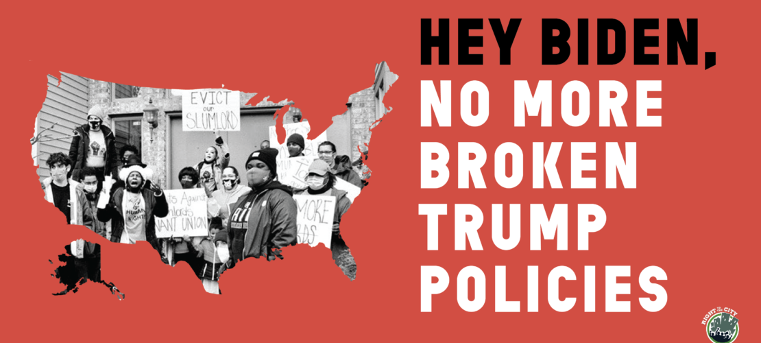 Renters Say: No More Broken Trump Policies!